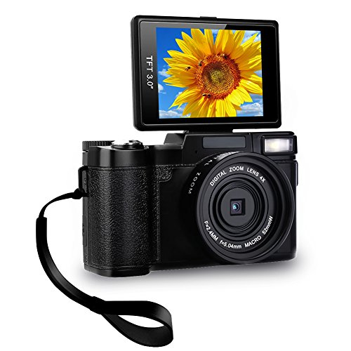 Digital Camera Camcorder Full HD Video Camera 1080p 24 0MP