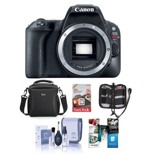 Canon Eos Rebel Sl2 Dslr Body Bundle With Camera Bag