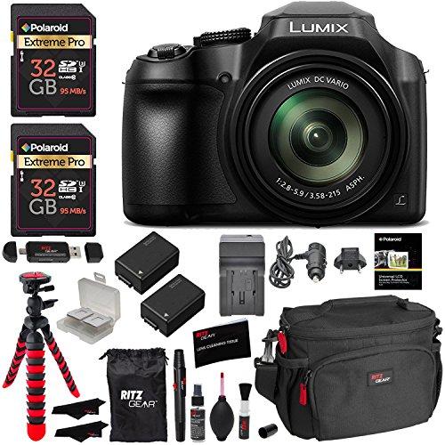 Panasonic lumix dc fz80 digital camera 32gb sdhc memory - Lumix classic ...