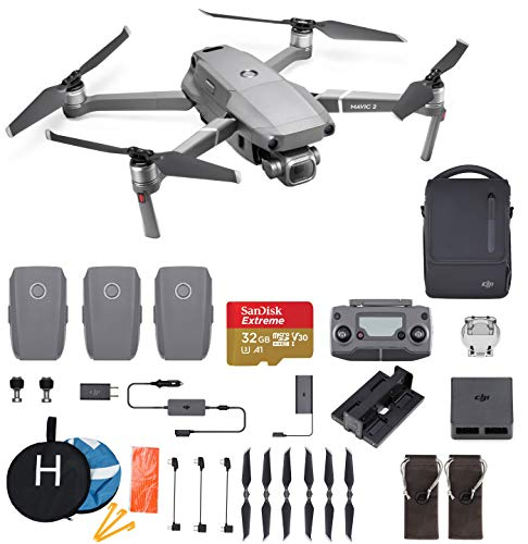 DJI Mavic 2 Pro Hasselblad Camera Fly More Combo Deluxe Bundle, 3