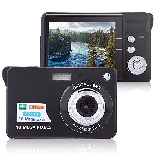 Digital Camera, Lyyes 2 7″ Mini Camera HD 720P Digital Point