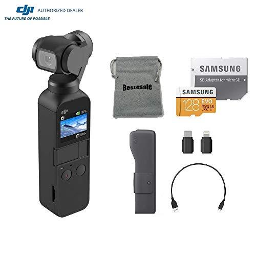 DJI Osmo Pocket Gimbal 3-Axis Stabilized Handheld Camera